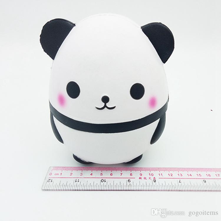 Big size Jumbo Cute Big Size Panda Egg Squishy Home Decoration Kawaii Simulation relaxation Squeeze Vent Panda Squishies