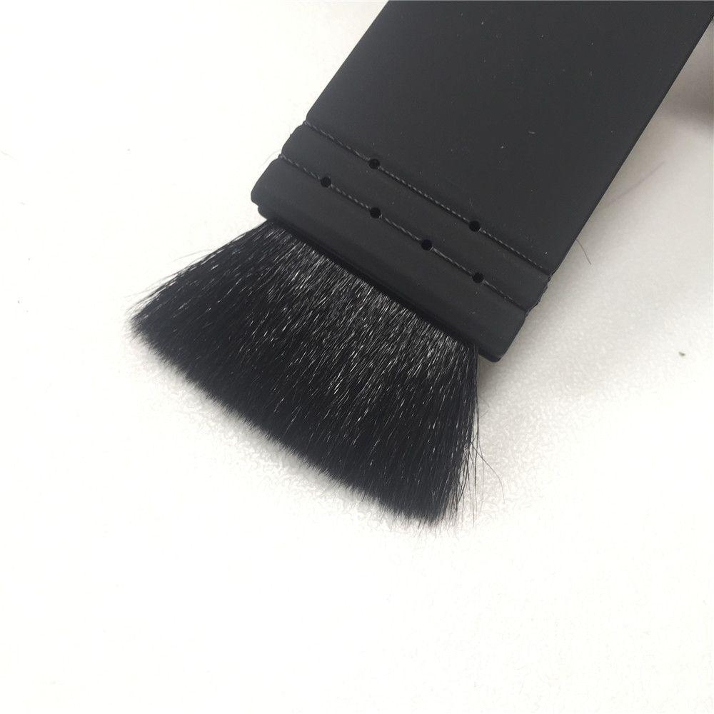 Ita Kabuki Pennello n. 21 - Pennello capelli piatto di capra a punta morbida - Pennello cosmetici Pennello cosmetici DHL Free