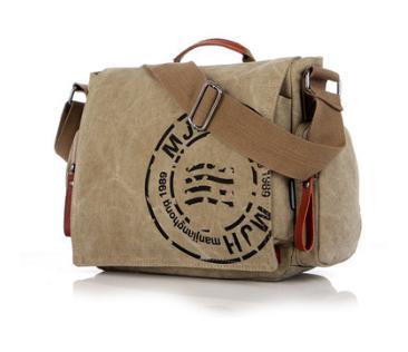 59cac15293 MANJIANGHONG Vintage Man Shoulder Messenger Bag Men Canvas Business ...