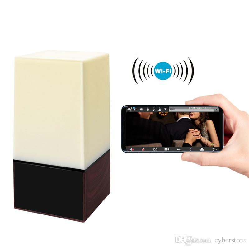 Gece Renk Ayna Elektronik Uzaktan Kablosuz WiFi Kamera HD 1080 P Gece Görüş Hareket Algılama Pet Bebek Monitörü Ev Güvenlik Gözetleme
