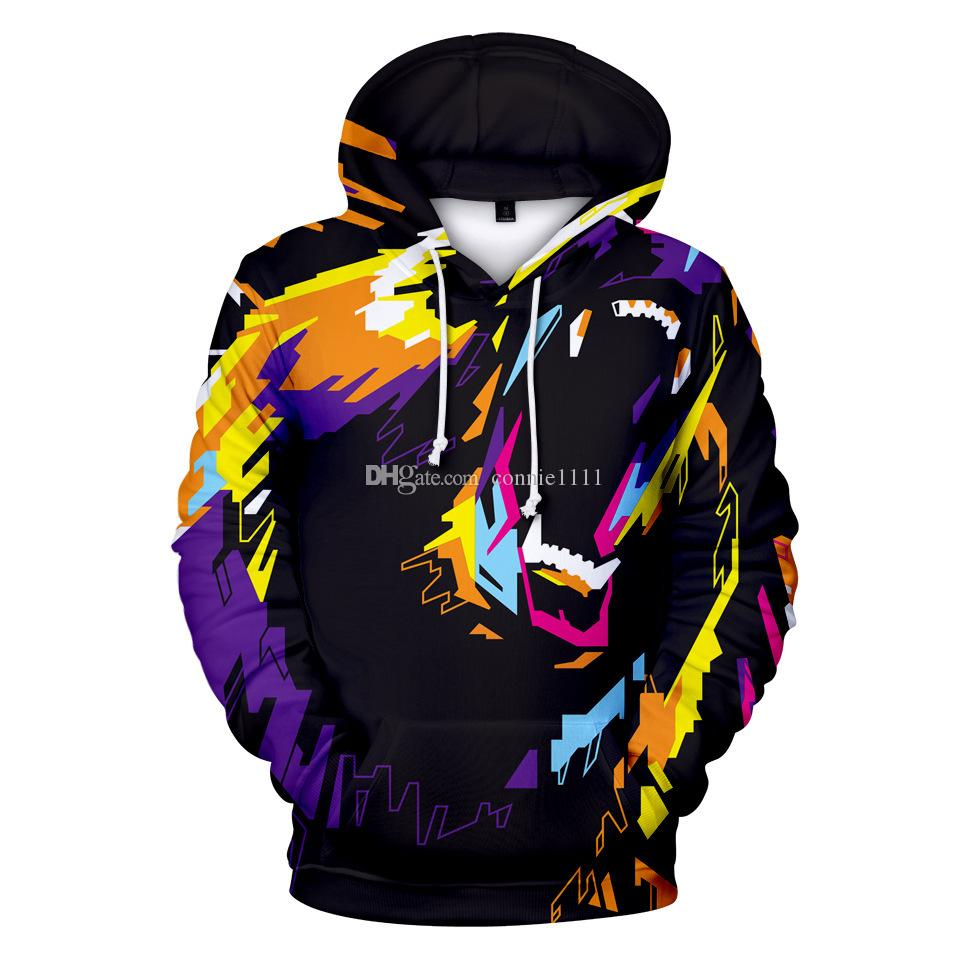 d679ce144246 2019 Hot Sale 3D Print Hoodies Colorful Bear Pullover Long Sleeve Hoody  Sweatshirt Men Women Couples Top Streetwear S 5XL Hoodie Drop Shipping From  ...
