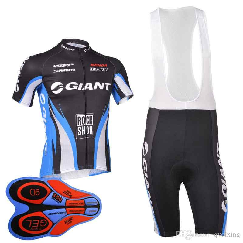 GIANT 2018 Pro Men Team Cycling Jersey Sport Suit Bike Maillot Ropa  Ciclismo Bicycle MTB Cycling Bib Shorts Set Clothing 91302J GIANT Cycling  Jersey MTB ... 0c6e47a58