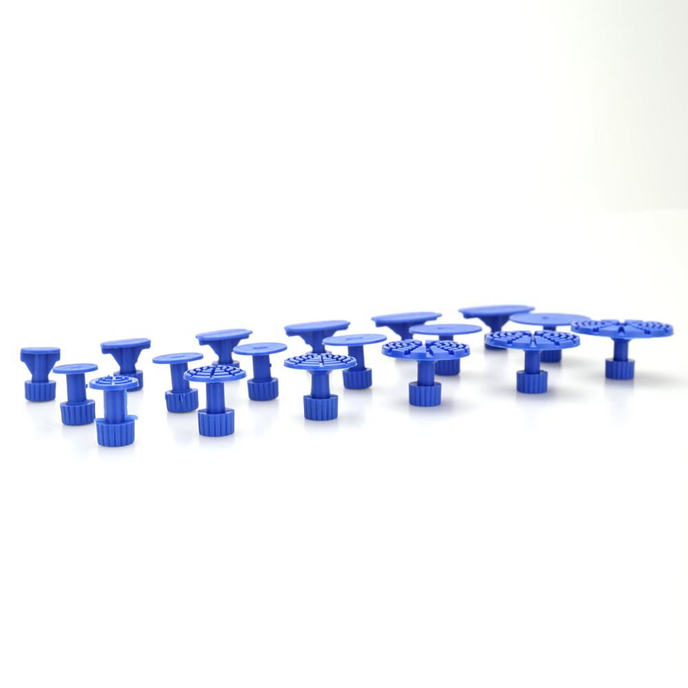 18pcs Car Dent Paintless Repair Tools Dent Puller Glue Tabs For Paintless-dent-repair auto dent repair tabs