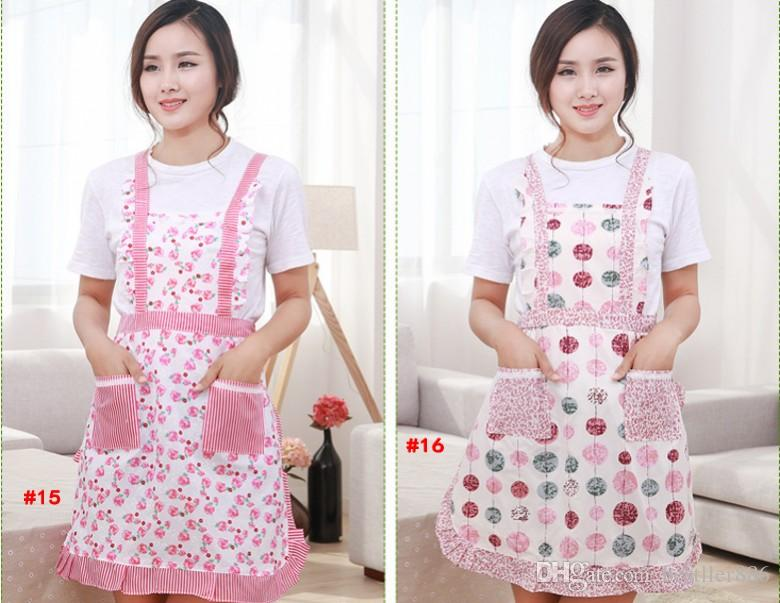 Apron with Front Pocket for Chefs Butchers Kitchen Cooking Craft UK Baking Home Cleaning Tool Coveral Apron Acces New Hot sale