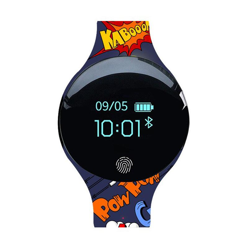 4902faf0d68 Color Touch Screen Smartwatch Heart Rate Monitor Smart Watch Sport ...