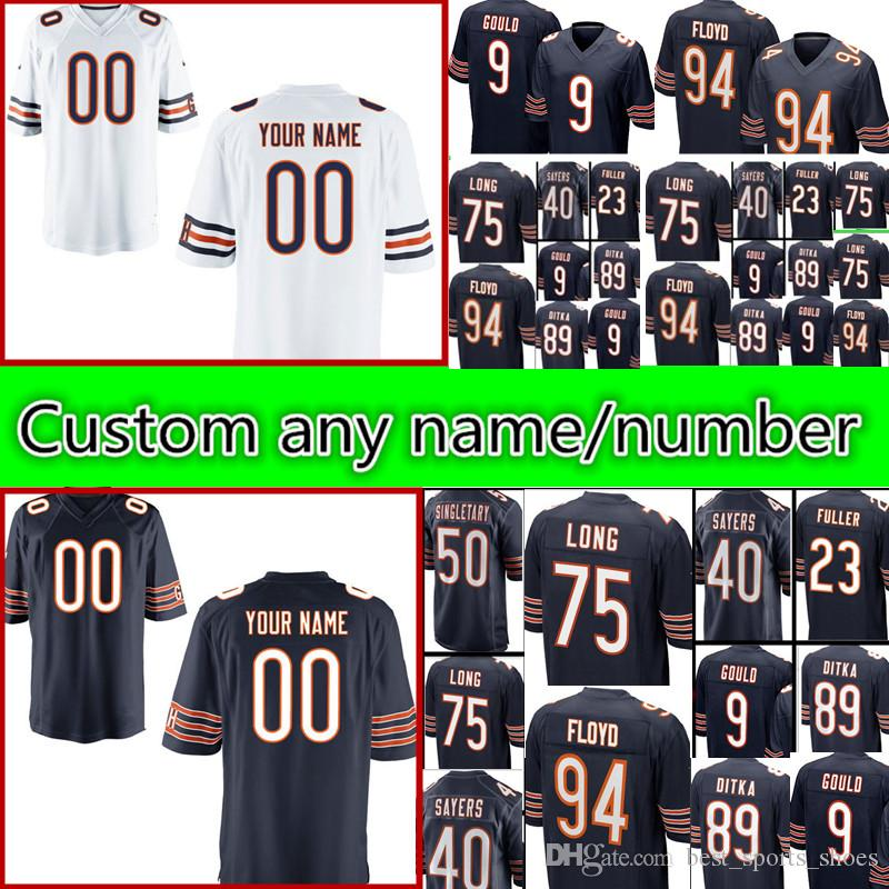 ... where to buy 2018 mens 40 gale sayers 23 kyle fuller 9 robbie gould 89  ditka 23fcea09f
