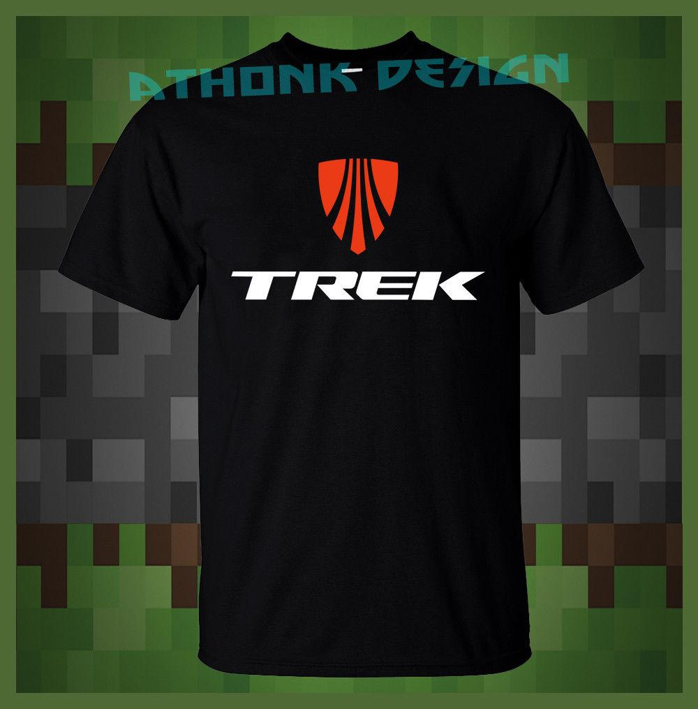 TREK BICYCLE T-SHIRT TREK MTB BIKE TEE SHIRT Funny Tees Shirts MENS T-SHIRT  Printed Men T Shirt Classic