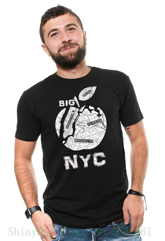 05350f2d57a38 Acheter Nyc T Shirt Five Boroughs Shirt Brooklyn Bronx Staten Island  Manhattan Queens Nyc Tee Imprimer Tee Shirt Hommes À Manches Courtes De   11.79 Du ...