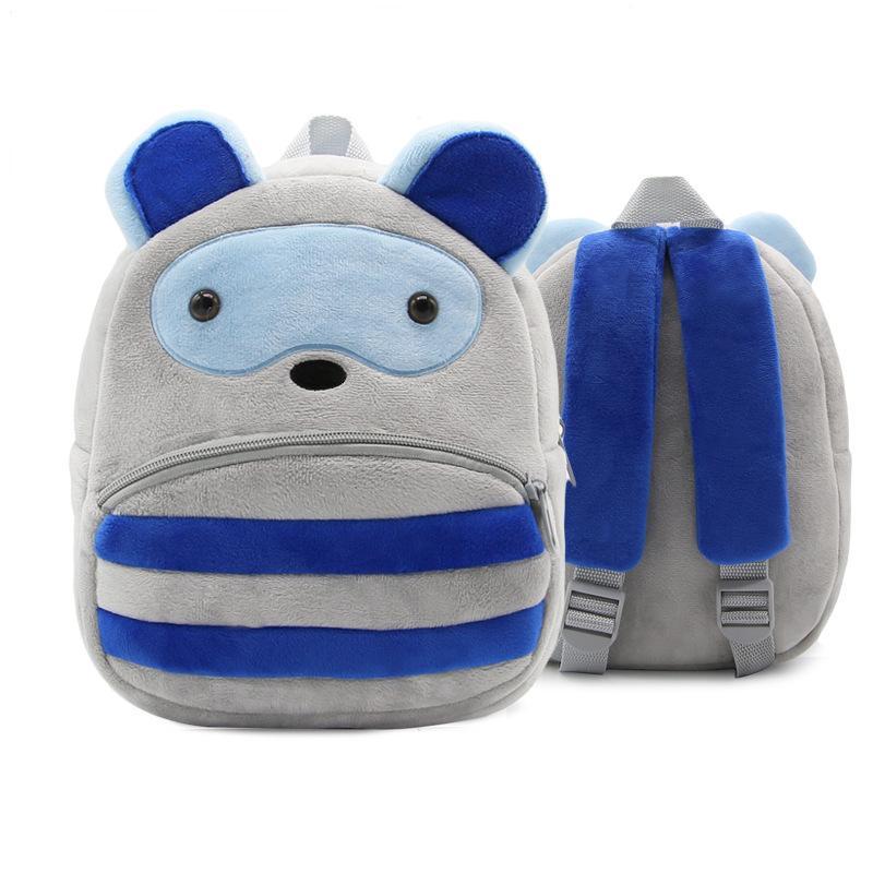 8868acaf2b 1 3 Years Old Kindergarten Kids Raccoon Backpacks Baby Girls Boys Cute  Schoolbag Plush Backpack Children Cartoon School Bags Shoulder Backpacks  Backpack ...