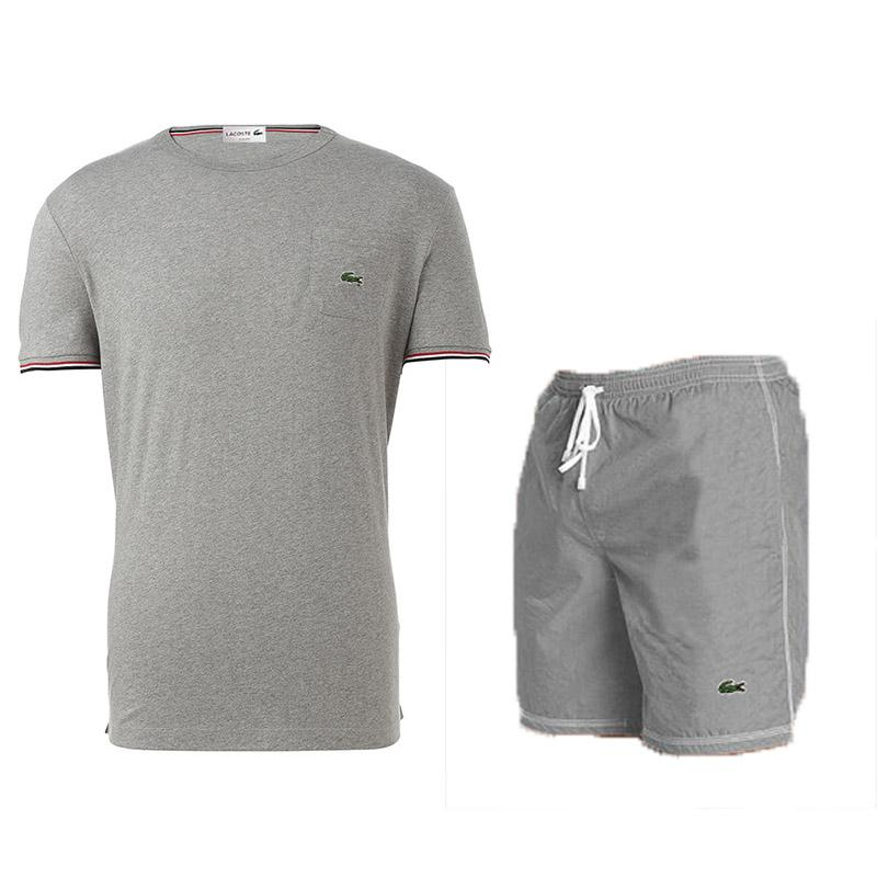 T Sportwear Herren Designer Sweatsuits Sportanzüge Luxus Jogger Krokodil Shirt Hosen Männliche Shorts Shirts Anzüge Trainingsanzüge orxBeWdC