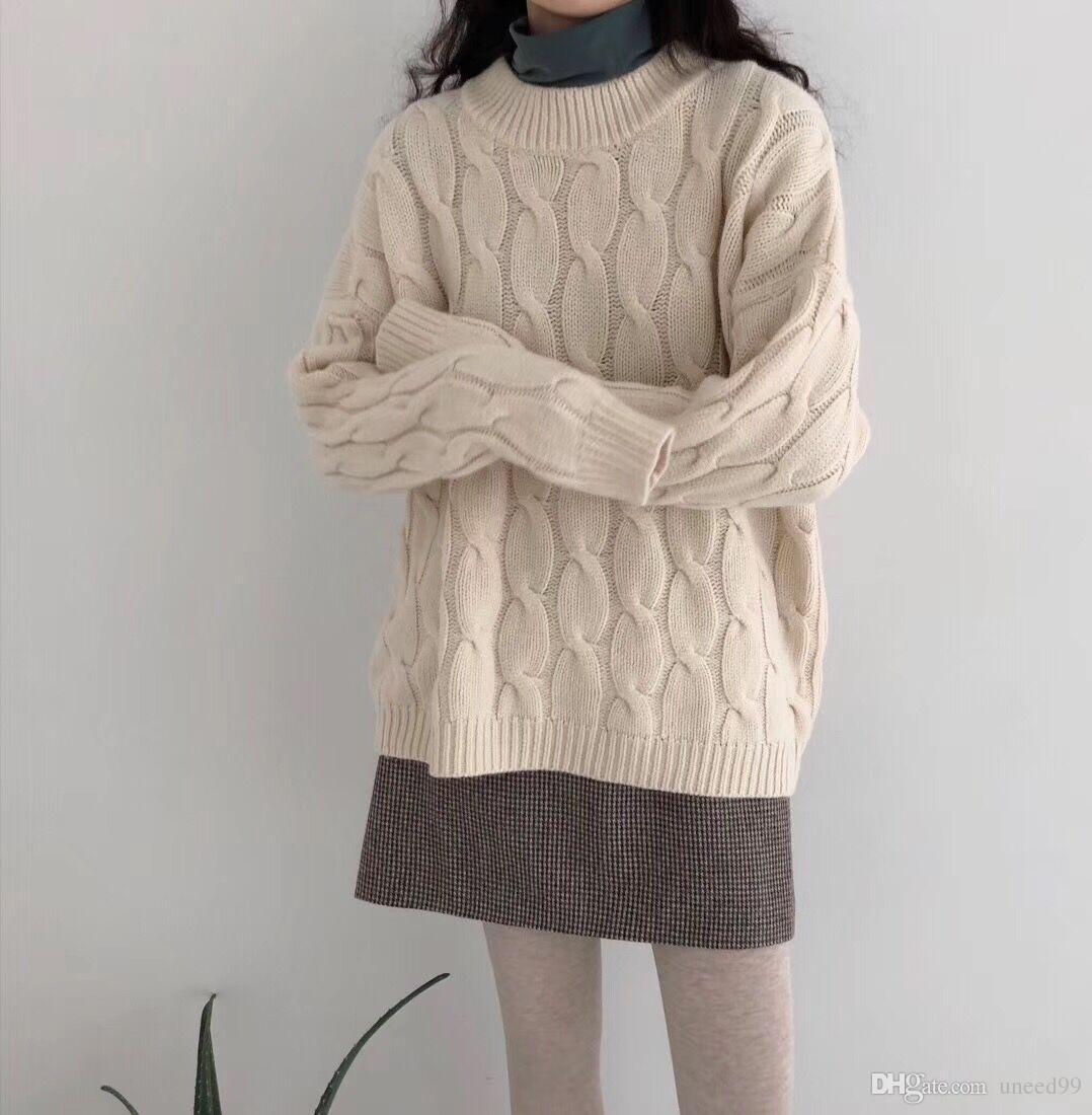Compre Suéter Pesado Artesanal Naranja Ropa De Mujer Patrón De ...