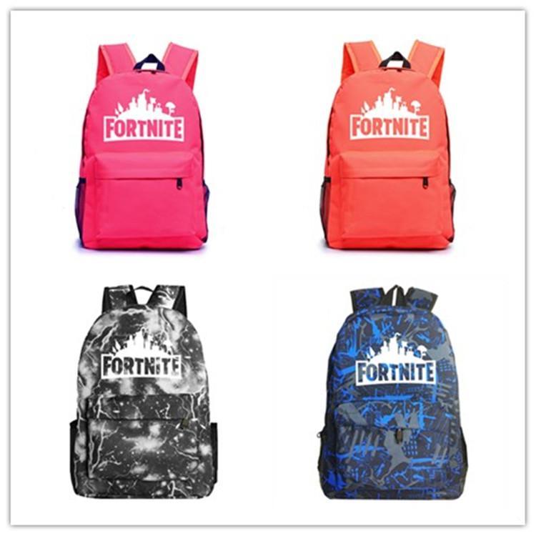 1- Fortnite Battle Royale School Bag Noctilucous Backpack Student ... 7e5c6b46f8271