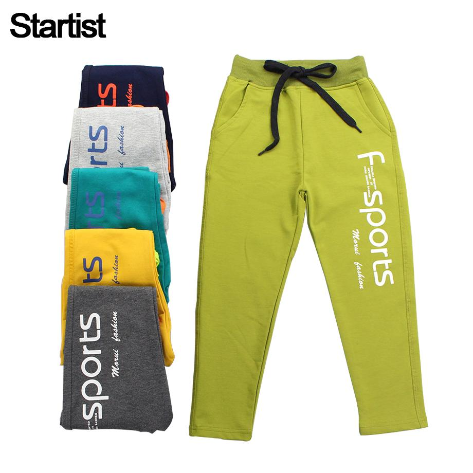 269686f4ec8b Startist Kids Boys Pants Autumn Letter Print Cotton Trousers Children  Teenage Boys Sport Pants Casual Kids Clothes 8 10 12 Boys White Casual  Shoes Boys In ...
