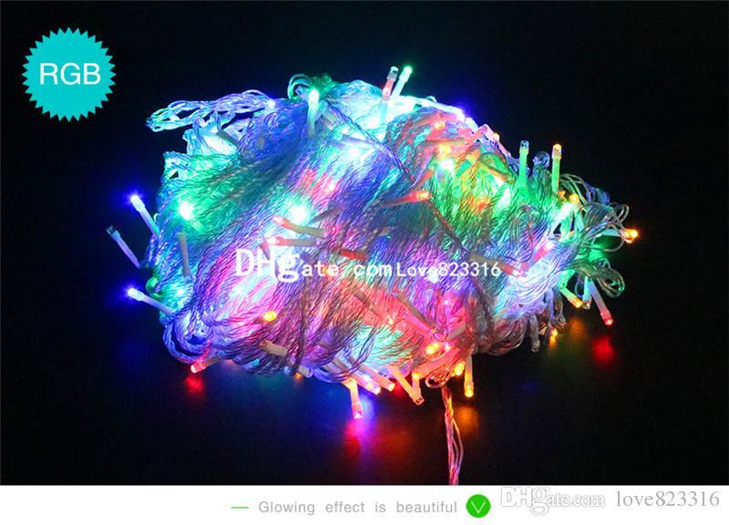 50M 500 LED Wedding Garden New Year Xmas Navidad Garland LED Christmas Decoration Outdoor Fairy String Light 220V 240V EU AU UK Plug