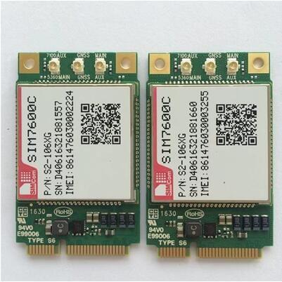 ! Wholesale SIM7600CE MINI PCIE module with SIM card slot 4G 100% New&Original Genuine Distributor TDD-LTE/FDD-LTE/WCDM