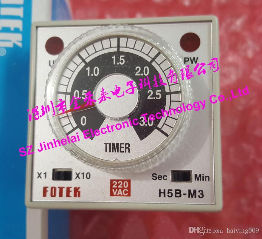 100% New and original FOTEK Time relay H5B-M3-220V (H5B-M3 220V)