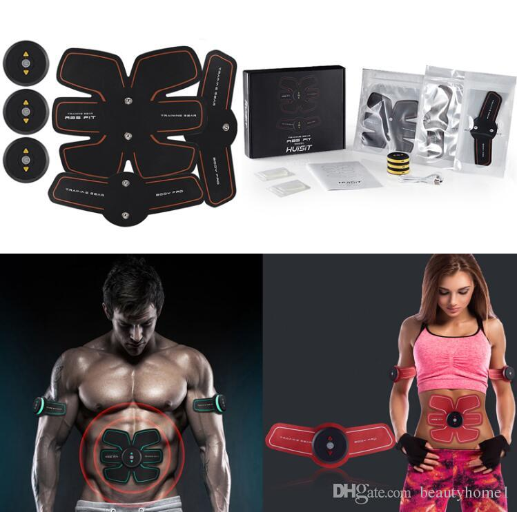 Haushaltsgerät Teile Ems Gewicht Verlust Maschine Muscle Stimulator Elektrostimulation Körper Fitness Abnehmen Russische Wellen Elektrische Muskel Training Haushaltsgeräte