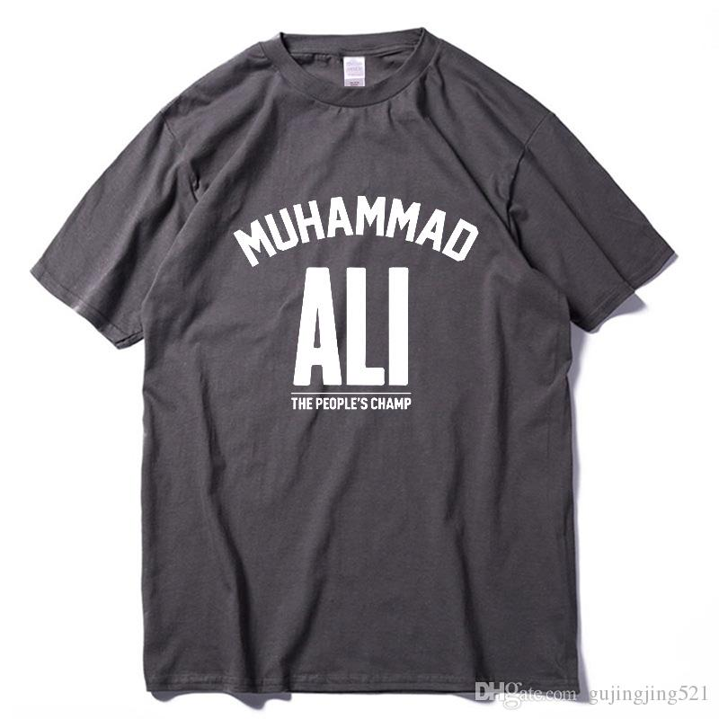 3c71ce67 Men Top MUHAMMAD ALI T Shirt Casual Clothing Men Greatest Fitness Short  Sleeve Printed Top Cotton Tee Shirt Plus Size 2018 Slogan T Shirts Vintage T  Shirt ...