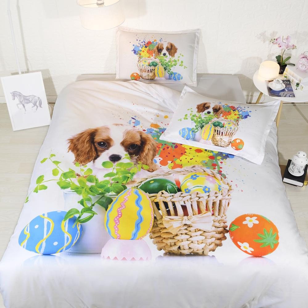 High Quality Fanaijia Couple Dog Bedding Set Queen Size Colors Duvet Cover Set With  Pillowcase Au King Kids Bedline Best Gift Duvet Cover Kids Bedding From  Aldrichy, ...