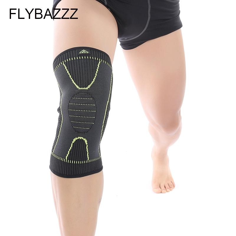 c2dbc6dc23 FLYBAZZZ Fitness Running Cycling Knee Support Braces Elastic Nylon ...