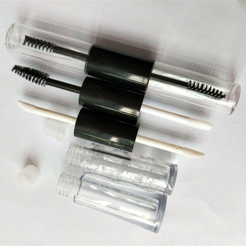 high-end Lip Glaze bottiglia vuota, personalità doppia testa lip gloss tubo e tubo ciglia, imbottigliamento manuale fai-da-te F20173052