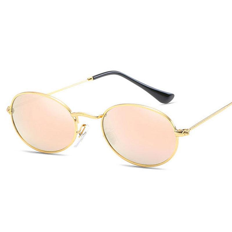 270d36703c5 2018 New Brand Designer Vintage Oval Sunglasses Women Men Retro Clear Lens Eyewear  Sun Glasses For Female UV400 Native Sunglasses Wholesale Sunglasses From ...