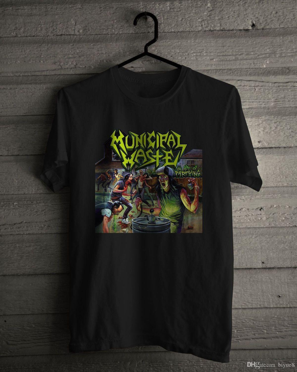 25f624aa5d Municipal Waste T Shirt Crossover Thrash Band Printing Casual T Shirt Men S  Tees Short Sleeve Hipster Tees Top Tee Online Shop T Shirt Shirts Designer  From ...