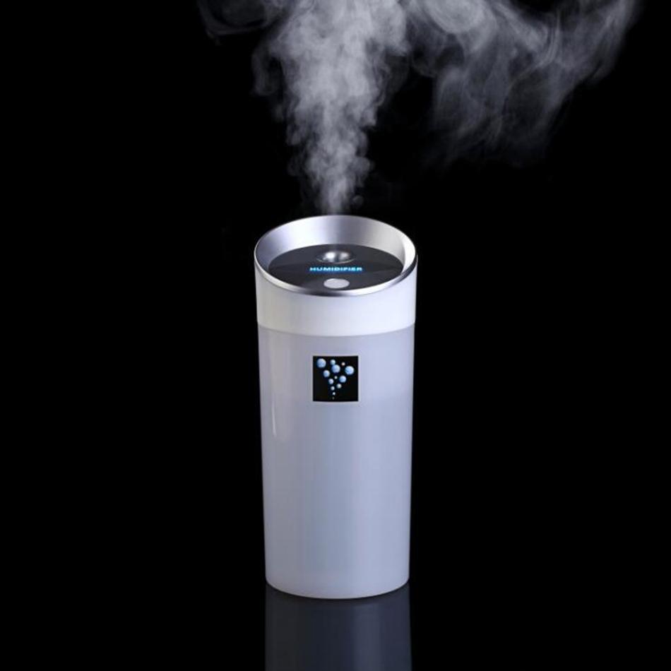 300 ML Kühlen Nebel Luftbefeuchter Tragbare Reise USB Mini Ultraschall Aroma Diffusor Ätherische Nebelhersteller Neuheit Artikel OOA4898