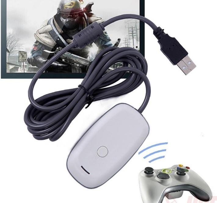 Wholesale USB Wireless Gaming Receiver Adapter for XBOX 360 For PC Controller Windows 7 8