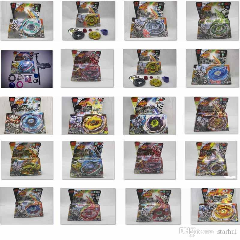 45 MODELS Beyblade Metal Fusion 4D With Launcher Beyblade Spinning Top Set Kids Game Toys Christmas Gift For Children Novelty Items HH7-1053