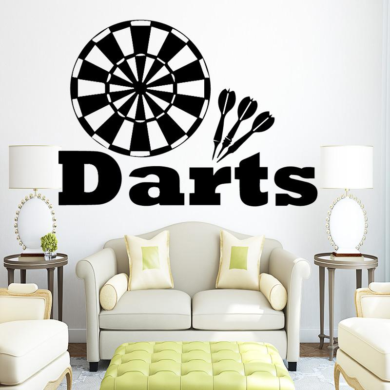 target darts wall decals vinyl wall stickers for kids boys room