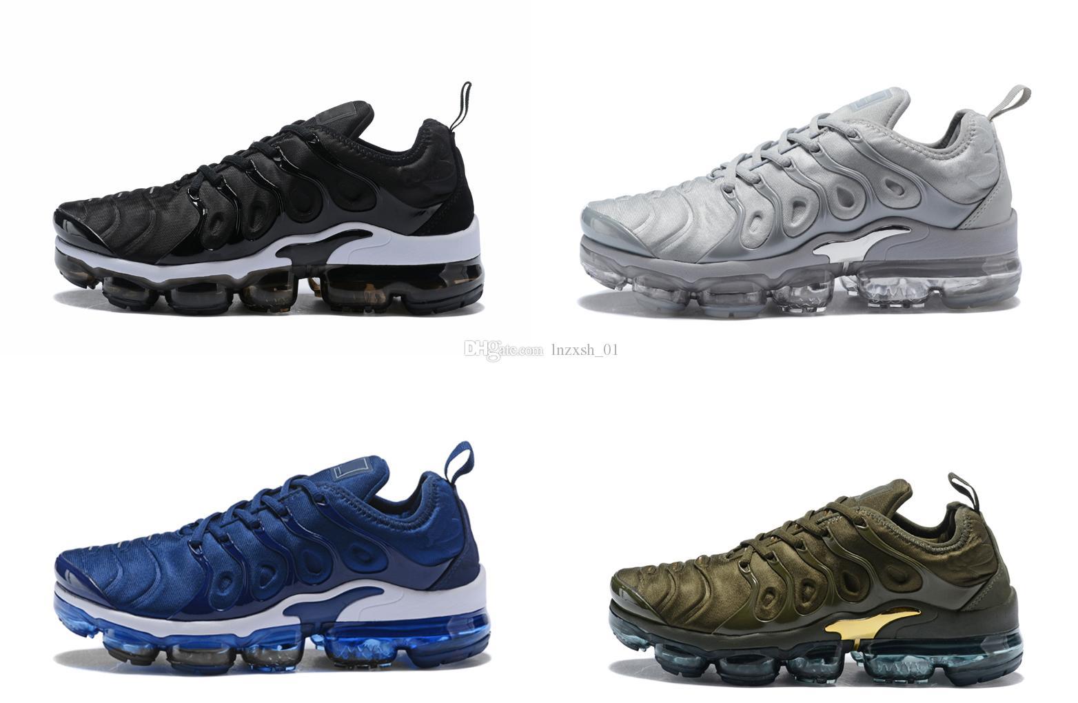 2018 High Qaulity Vapormax TN Plus Mesh Breathable Running Shoes Men Women Sport Shoes Sneakers athletics cheap perfect sale visa payment GELqXXWp