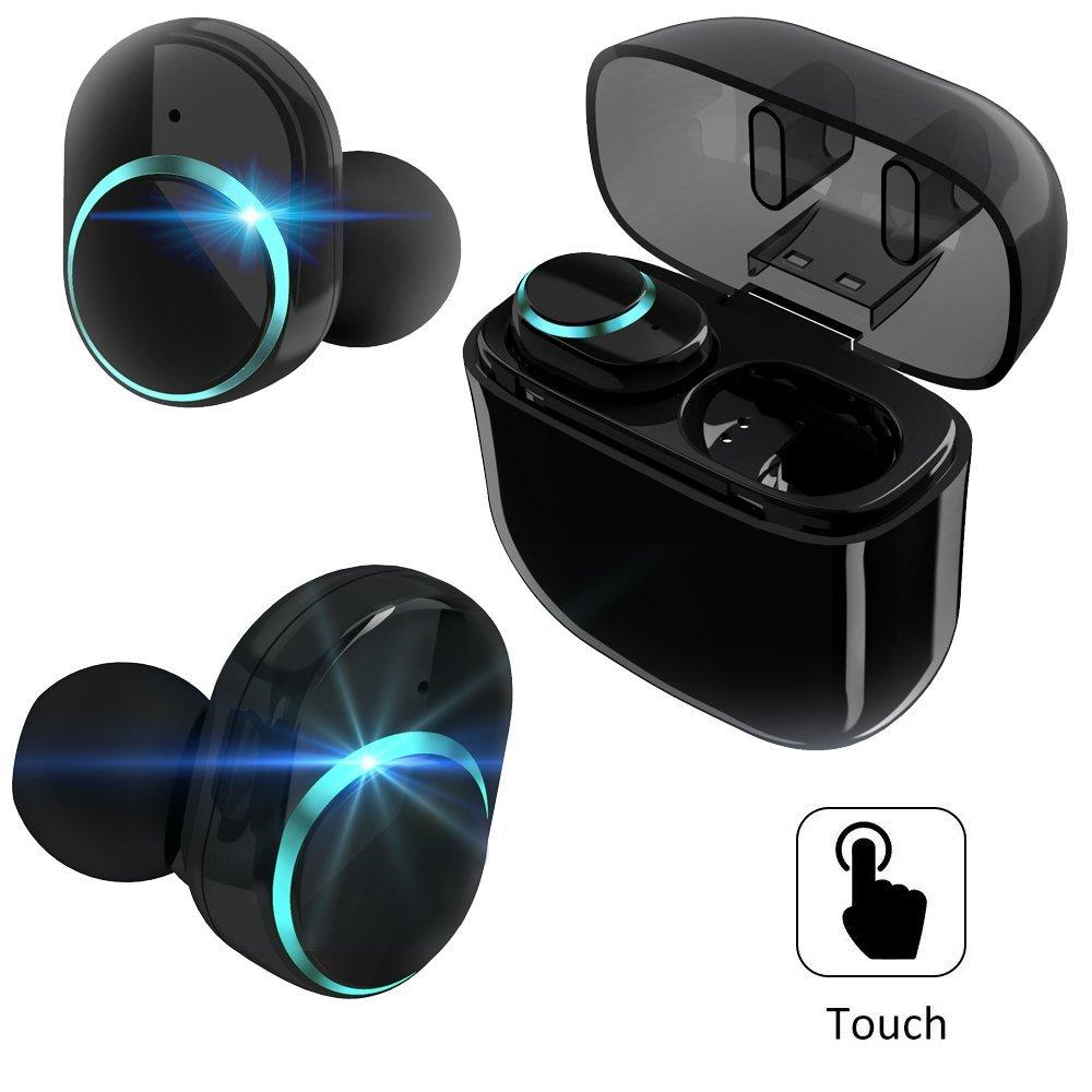 Wireless Earbuds Foitecn WE i8 Bluetooth Headphones with Touch Control Changeable Notify Light Mini In-Ear Headsets Stereo Sport