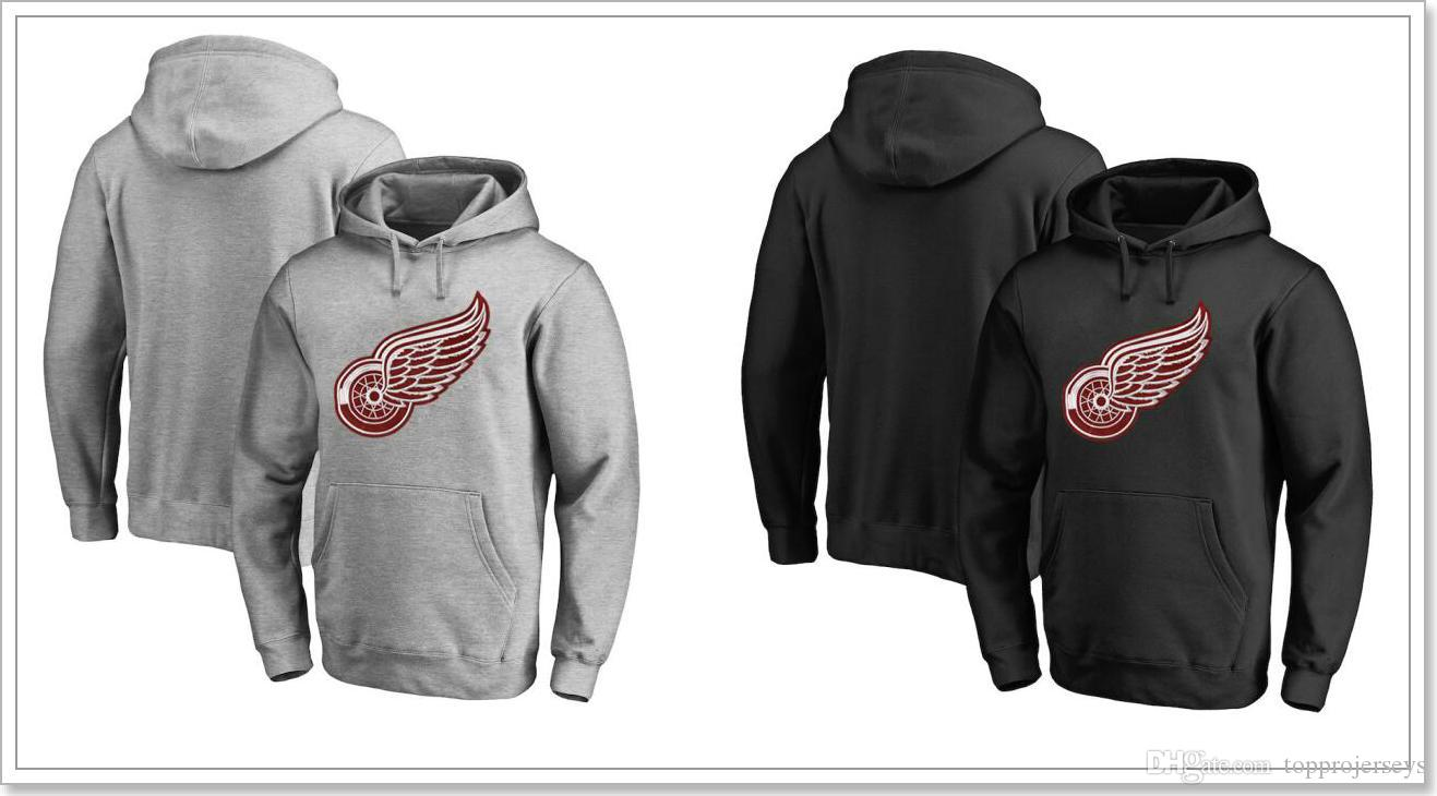 2019 New Mens Vintage Detroit Red Wings Team Ice Hockey Shirts Uniforms  Sweaters Hoodies Blank Stitched Embroidery Sports Jerseys Sz S XXXL From ... 5bb6244a7