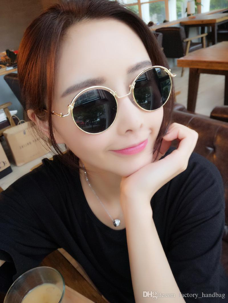 a60a4437238f New Arrival Ultra Light Round Metal Men Sunglasses For Women Glasses Old  School Retro Summer Fashion UV400 Coated Film Lens W1832 Eyeglasses  Sunglasses Hut ...