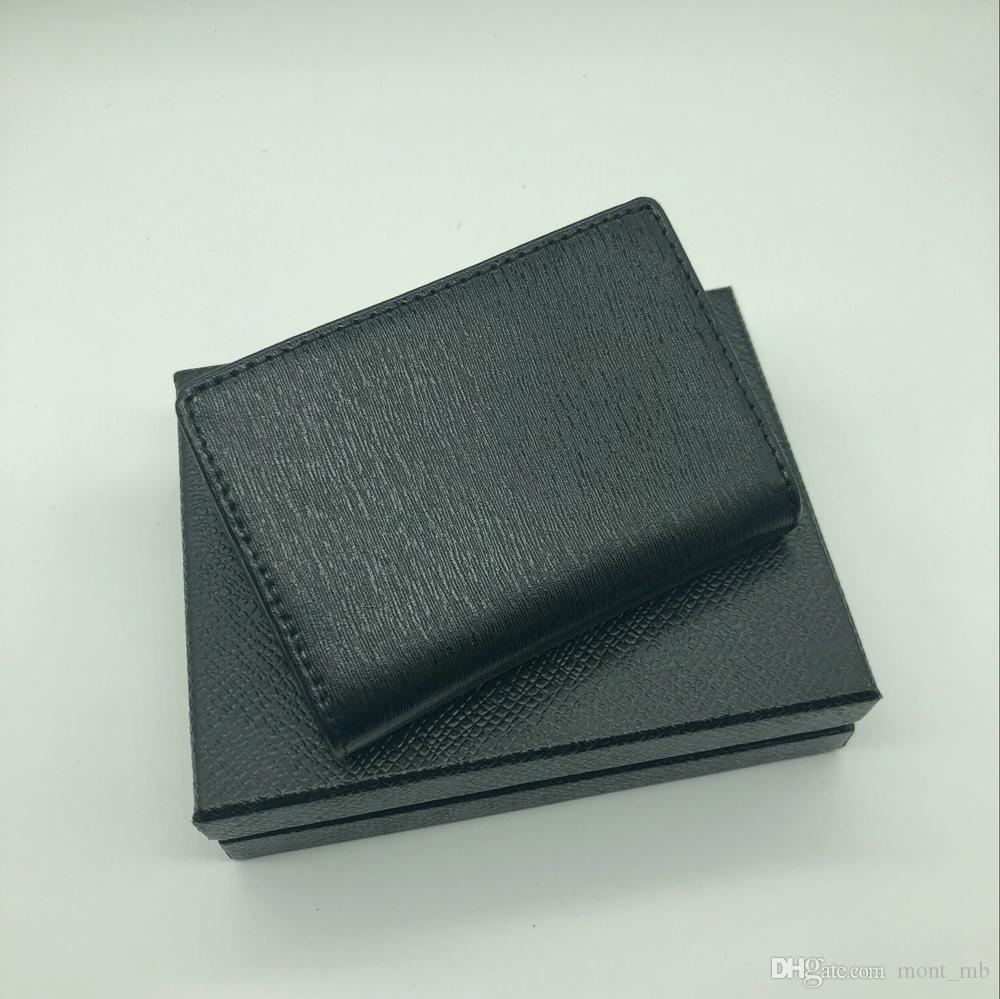 MB credit card holder wallet high quality leather card holder new fashion card holder in 2018 jacket pocket.