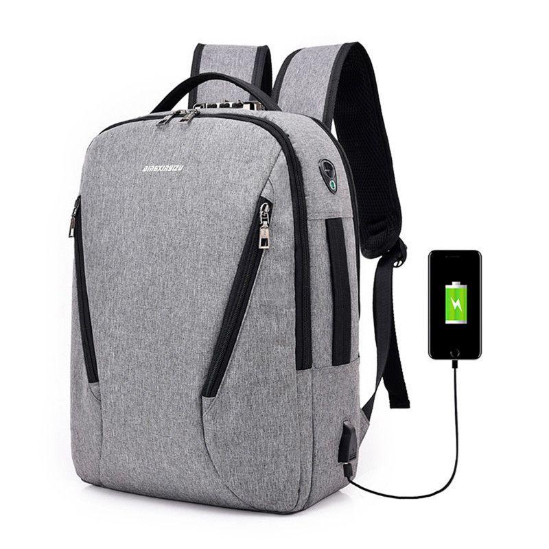 Backpacks Men's Bags Business Men Backpack Hot Sale Novelty Laptop Daypack Tourism Travel 2019 Backpacks Boys Street Holiday Rucksacks Anti-thief Bag