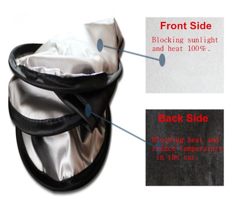 Auto parasole anteriore parabrezza posteriore pieghevole parasole schermo parasole UV blocco auto parasole parabrezza copertura del cofano 20 pz