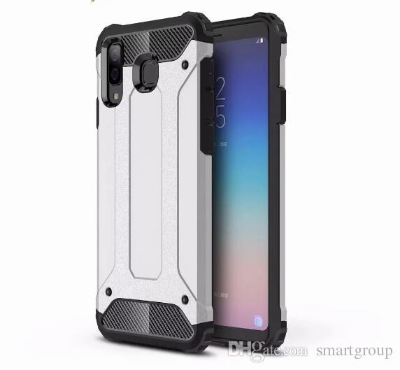 huge discount d8924 f2678 For Samsung A9 Star Case Quality Rugged Combo Hybrid Armor Bracket Impact  Holster Protective Cover Case For Samsung Galaxy A9 Star / A8 Star