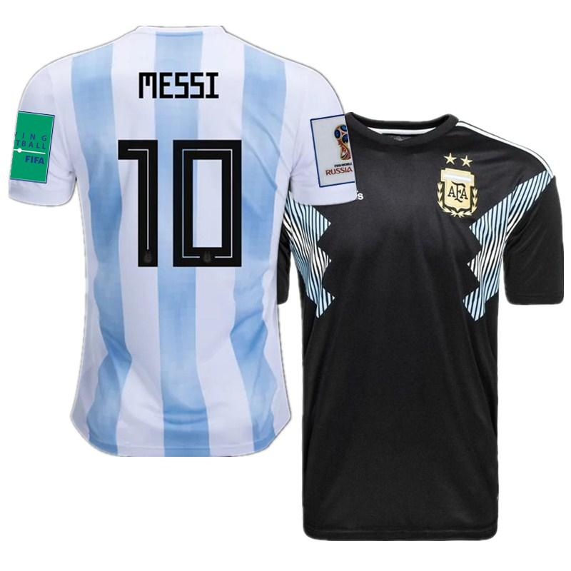 2018 World Cup Argentina Home Away Futbol Camisa Argentino Soccer Jerseys  Messi Football Camisetas Shirt Kit Maillot UK 2019 From Jd sports 9dfc2e5da9d9b