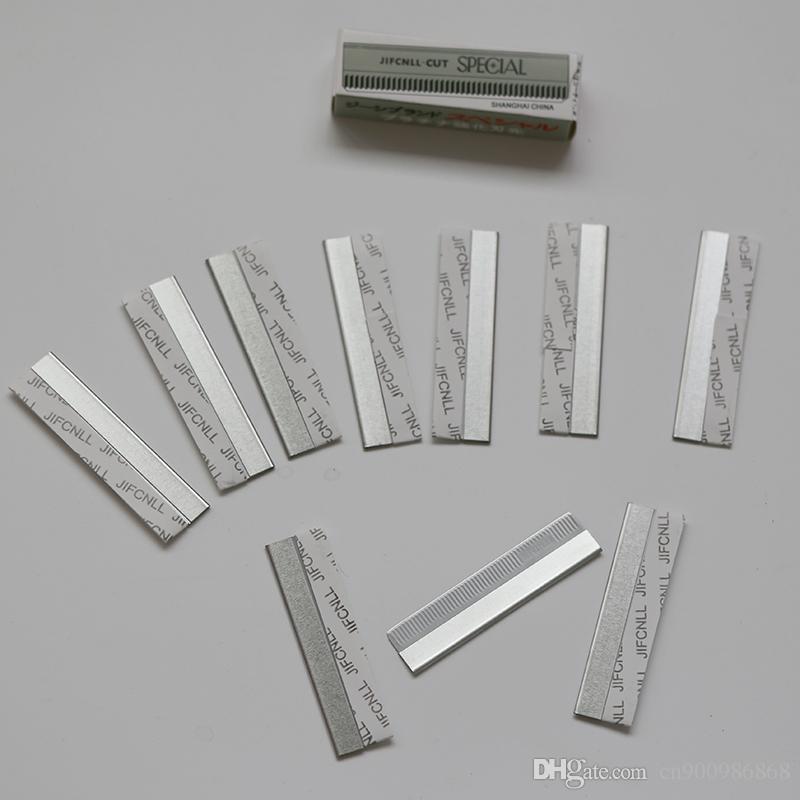 100 шт. / Лот, оптом Super RCUT бритвы / острые лезвие для волос бритвы со съемными лезвиями