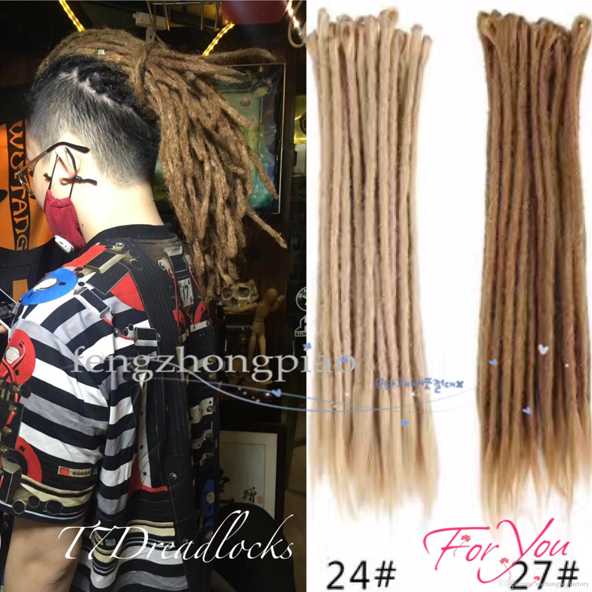 2019 Reggae Dreadlocks Synthetic Hair Accessories Extensions Long Hair For  Black Cool Girls / Boys Best Sexy Wholesalers Feng Zhong Piao From ...