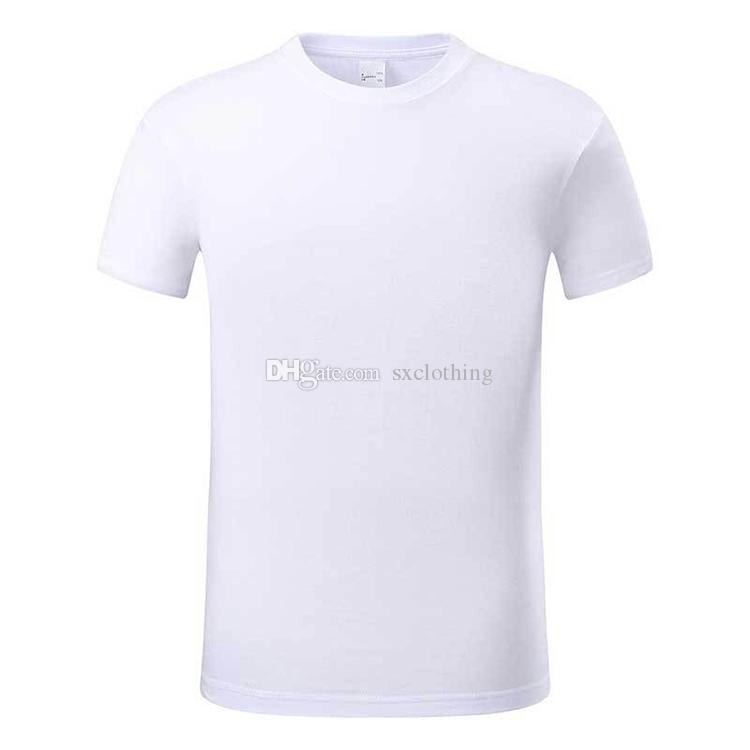 a0c115a2d0a 2019 Cheap Price Round Neck Short Sleeve Plain White T Shirt Men 100% Cotton  From Sxclothing
