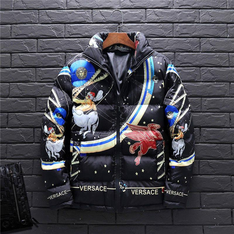 85223d06d78962 2019 Designer Mens Jacket Autumn Winter Coats Windbreaker Coat Zipper  Fashion Brand Coat Outdoor Sport Brand Coat Face Plus Size Men S Clothing  From Vogoboy ...
