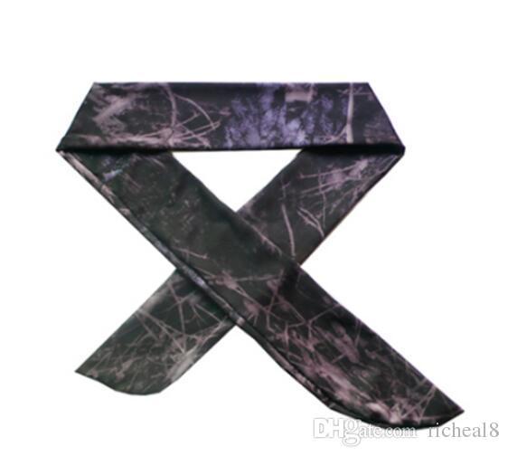 Commercio all'ingrosso nuovi i Solid Cotton Tie Indietro Fasce Stretch Sweatbands Fascia capelli Umidità Wicking Allenamento Uomini Donne Bands