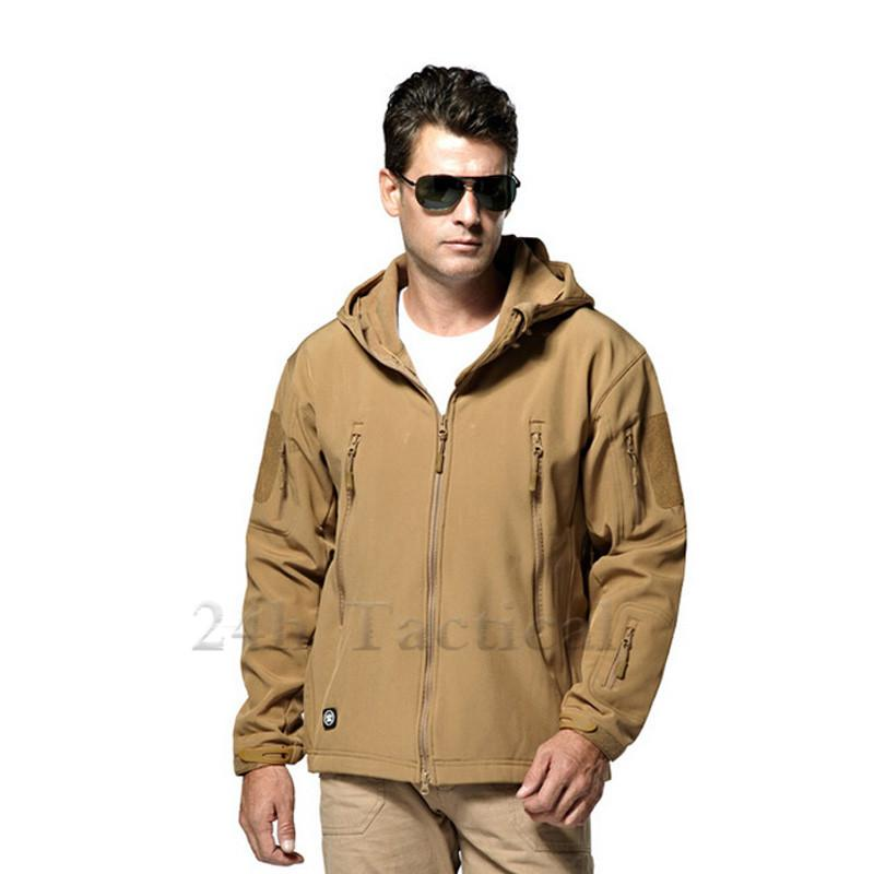 Outdoor TAD V 4.0 Lurker Softshell Jacket Men Waterproof Windproof Camouflage Tactical Jacket Hunting Clothing