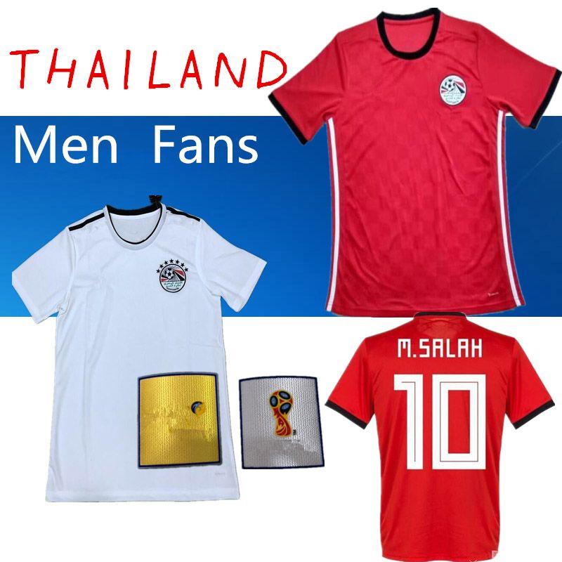 2019 AAA 2018 Egypt Football Jersey Home Away  10 M. SALAH  17 M.ELNENY  11  KAHRABA  14 RAMADAN World Cup 2018 Top Quality Maillot De Foot From  Soccer77666 f376cf7d4