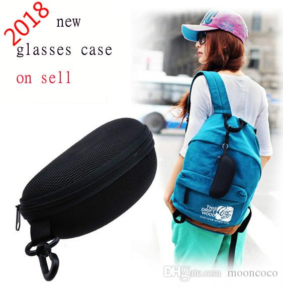 Sunglasses Reading Glasses Carry Bag Hard Zipper Box Travel Pack Pouch Case or Dropshipping