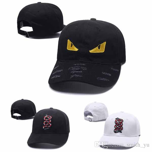 Fashion New Snake Snapback Cool Designer Eye Snap Back Cap   Hats Snapbacks  Men Women Hip Hop Brand Adjustable Flat Baseball Caps Cheap Sale Hats And  Caps ... a1c88d876
