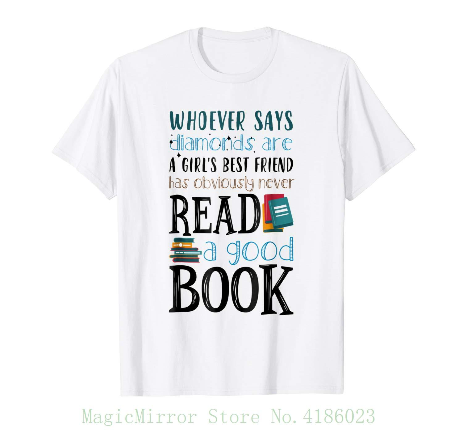 17c7e5292e31 Books Are Girl S Best Friend Reading Librarian T Shirt Cotton T Shirt  Fashion One T Shirt A Day One Day T Shirt From Magicmirrorstore